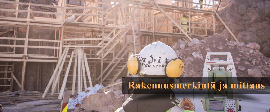 Rakennusmerkintä ja mittaus